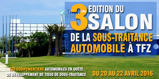 salon de la sous traitance automobile tanger